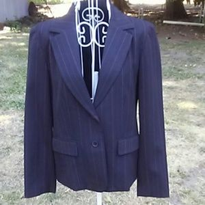 RAFAELLA 2 Piece Pinstripe Suit 8